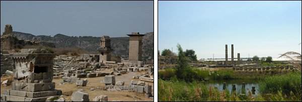 Xanthos-Letoon Ancient cities